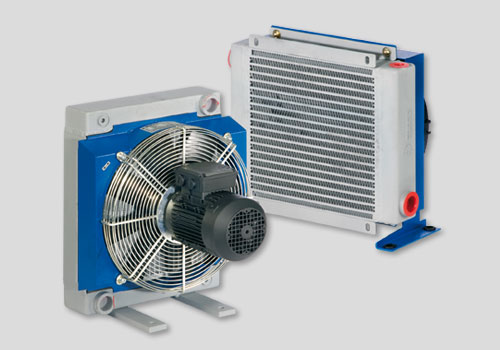 Oil-Air coolers Series MG 2000 K + HPA