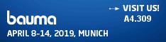 Bauma 8.-14 April 2019 München